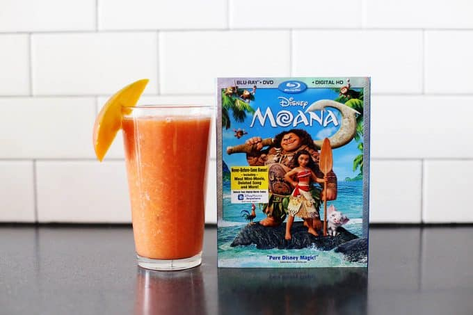 Otai inspired drink for a Moana birthday party