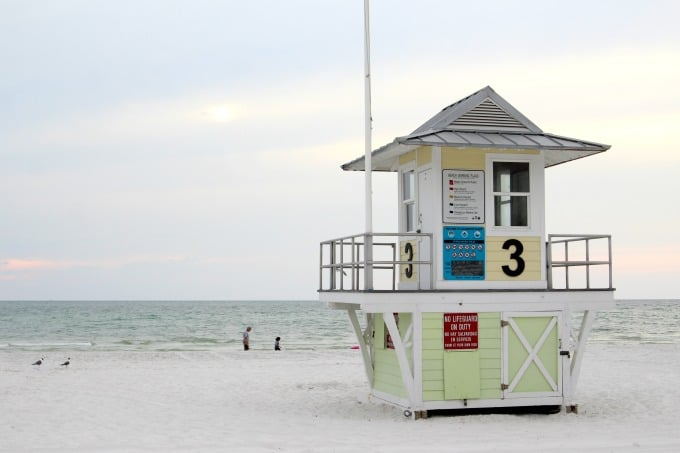 Clearwater Beach Florida was chosen by Trip Advisor as the #1 beach in the United States for 2018