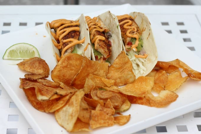 Kids and adults will love the Fish Tacos