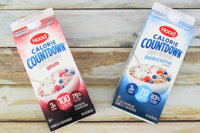 Hood Calorie Countdown makes a great milk substitute