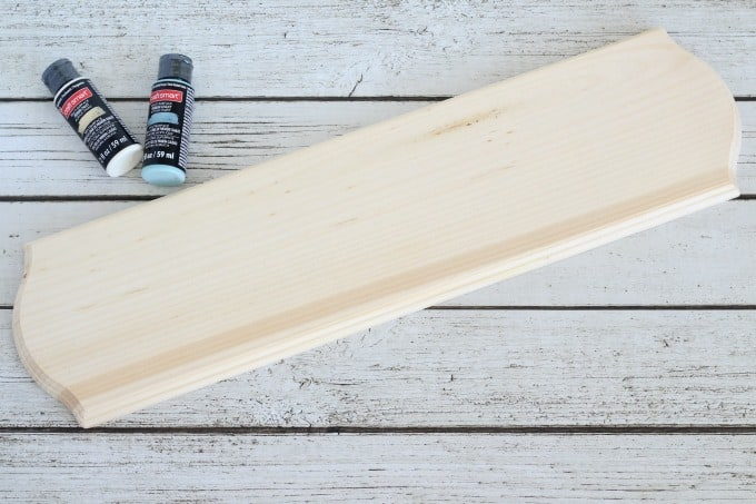 You'll want a piece of wood that's just the right size for your birthday board