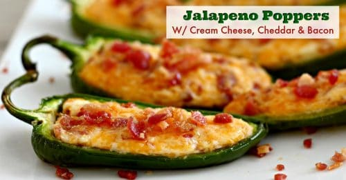 Baked jalapeno poppers facebook