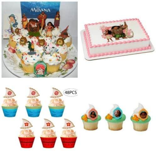 Moana cake toppers