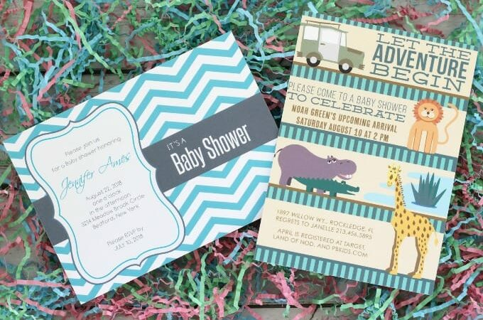 Baby Shower Invitations feature