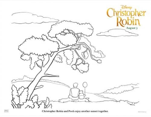 Winnie The Pooh Coloring Pages Activity Sheets From Disneys