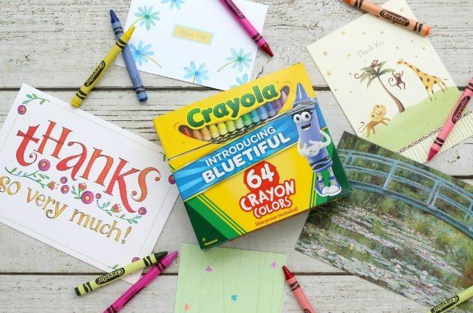 Crayola Thank A Teacher Feature
