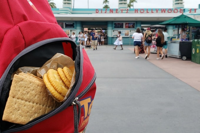 On the go snacks make life easy, and cheaper, when we visit our favorite theme parks.