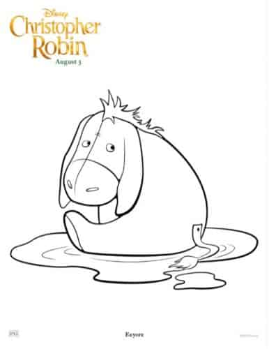 Winnie The Pooh Coloring Pages Activity Sheets From