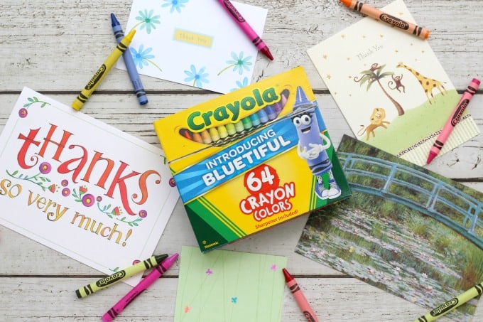 Crayola Thank A Teacher contest can win teachers great prizes