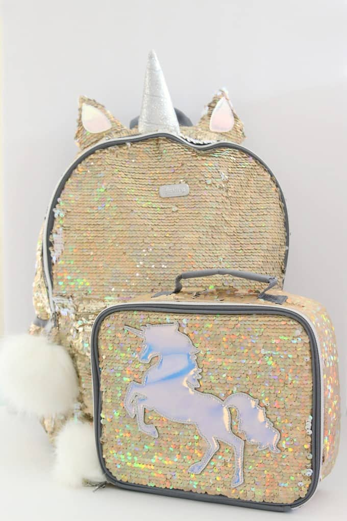 Tweens and younger girls will love these unicorn backpacks for girls