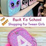 back to school shopping for girls