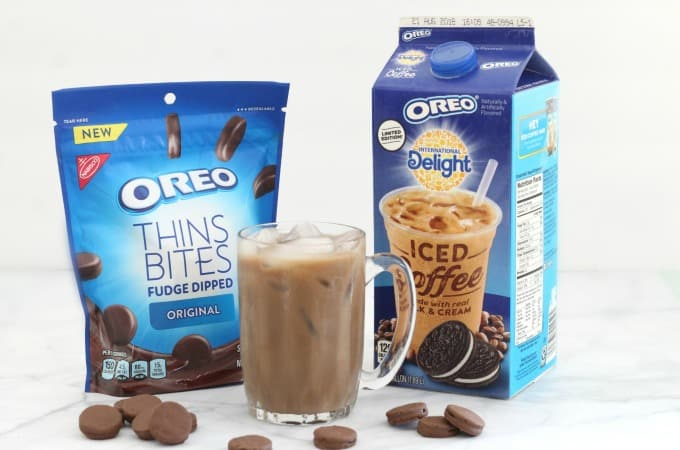 International Delight Oreo Iced Coffee feature