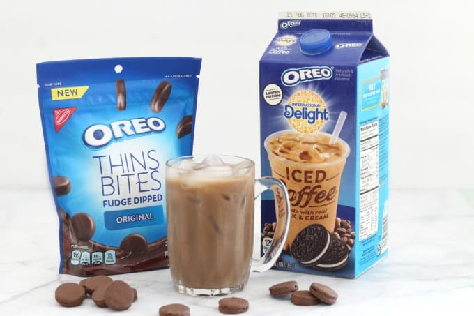 International Delight OREO Iced Coffee with OREO Thins Bites