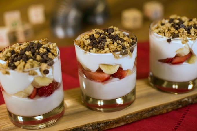 Breakfast Parfait at Woody's Lunch Box