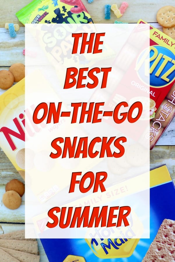 On The Go Snacks - Want the perfect summer snacks for on the go? These easy snacks are great for busy families and now you can even win great prizes just by snacking with the NABISCO Snack 'N Share Sweepstakes! #SnacknShare #IC #ad