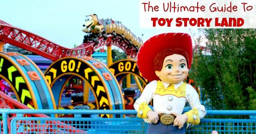 Toy Story Land Facebook