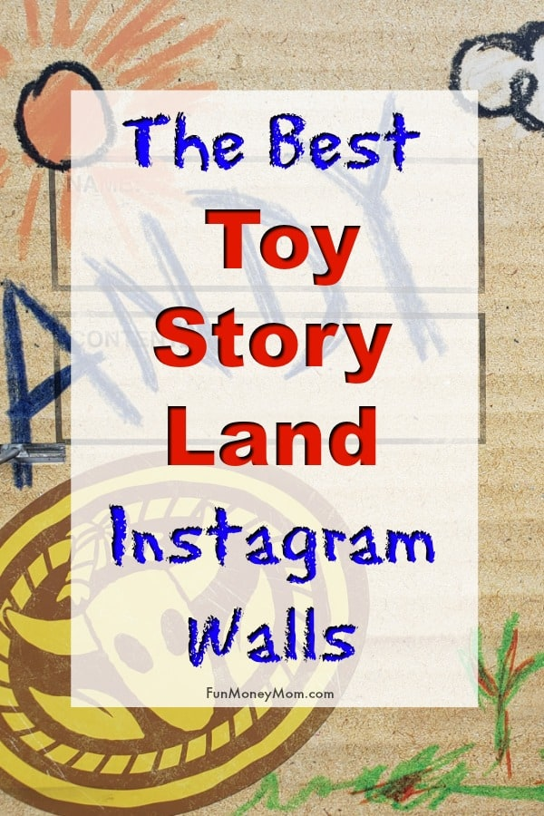Disney Instagram Walls - Love taking pictures in front of Instagram walls at Disney? Now you'll find even more to choose from with these colorful new Toy Story Land Instagram Walls! #ToyStoryLand #hosted #DisneyWorld #Orlando