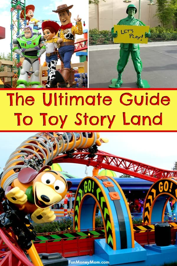 Toy Story Land - Want the inside scoop on Toy Story Land Disney World? From where to meet Woody and Buzz to the newest Disney Instagram walls, you'll find it here in the ultimate Disney guide to the newest land in Hollywood Studios Orlando. #ToyStoryLand #DisneyWorld #HollywoodStudios #DisneyVacation #Orlando
