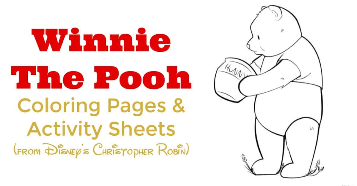 Free Printable Winnie The Pooh Coloring Pages For Kids | Winnie ... | 627x1200