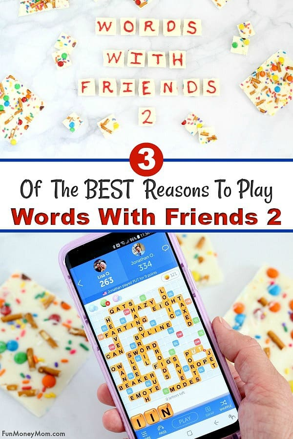 Words With Friends 2 - Want to play a game that will not only make you think but connect you to friends and family too? Download this fun mobile word game and discover just what makes it so much fun! #ad #wordswithfriends2 #games #wordgames