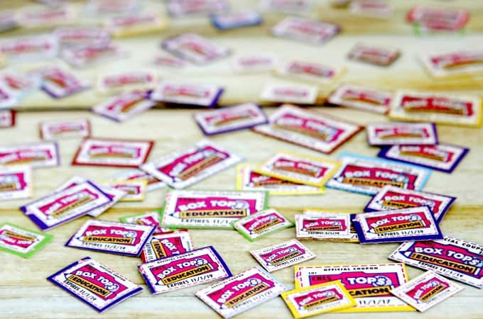 Back To School With Box Tops For Education