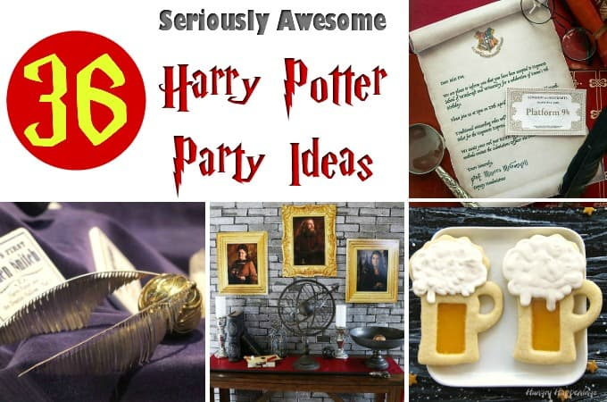 36 Seriously Awesome Harry Potter Party Ideas