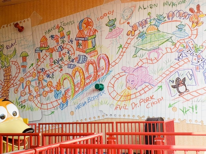 Slinky Dog Dash blueprints