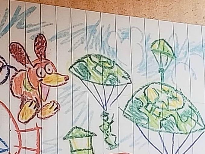 Hidden Mickey at the Slinky Dog Dash