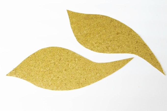 Wing cutouts for Harry Potter Golden Snitch pumpkin