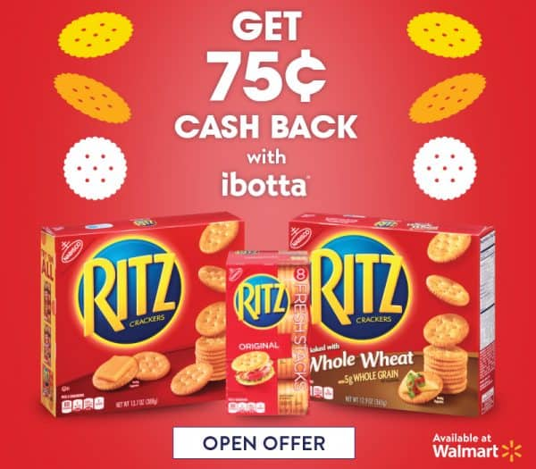 Save on RITZ Crackers