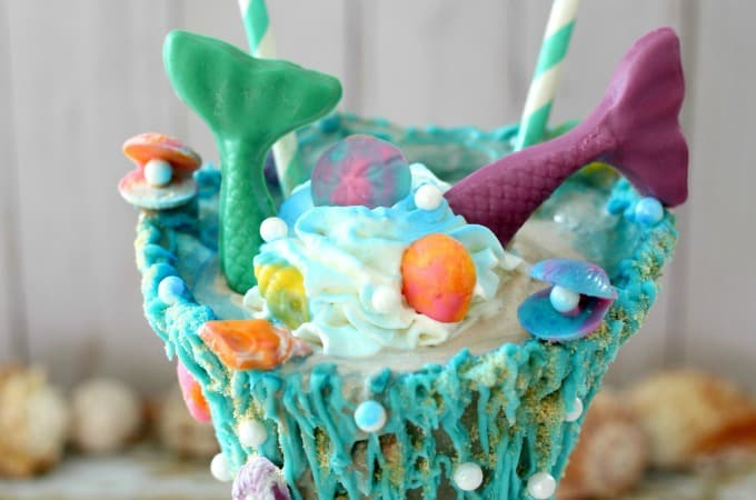 Mermaid Milkshake feature