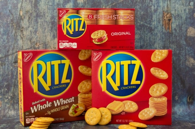 Save on RITZ Crackers feature
