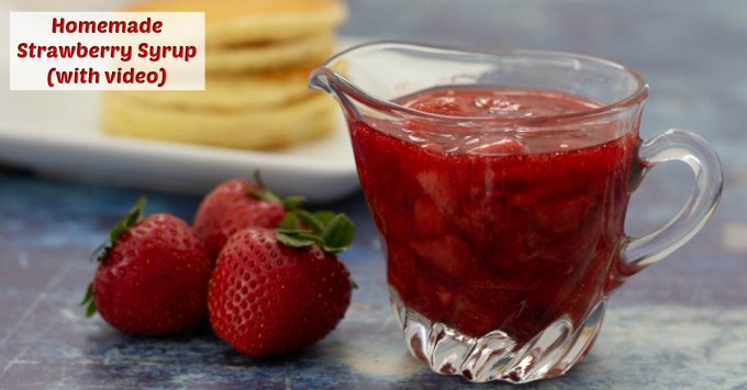 Strawberry Syrup facebook
