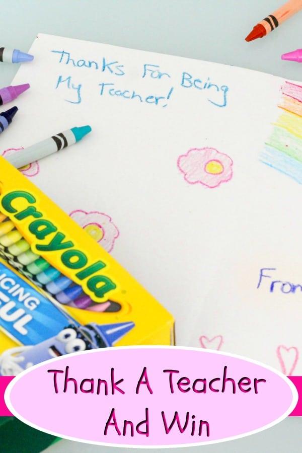 Thank A Teacher Pinterest 2