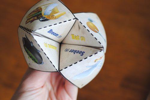 Origami Sorting Hat
