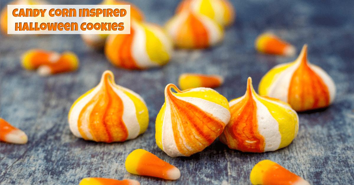 Candy Corn Inspired Halloween Cookies Fun Money Mom