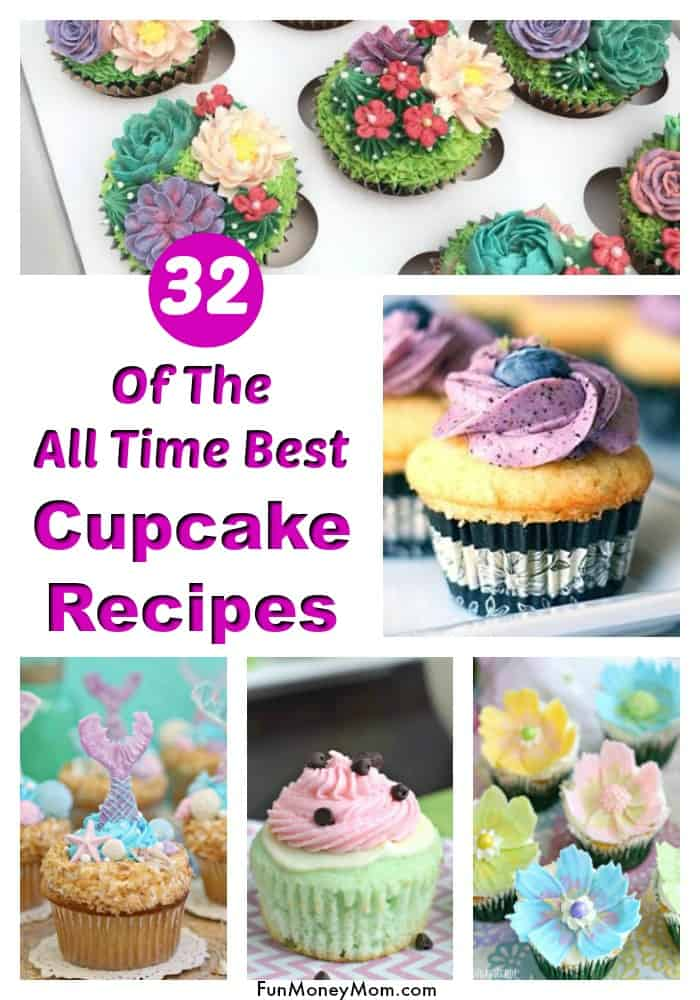 Cupcake recipes - Need cupcakes for a special occasion? From birthday cupcakes to special treats, there's a cupcake recipe for any event! #cupcakes #cupcakerecipes #partyfood #birthdaypartyfood #birthdays