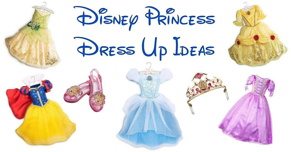 Disney Princess Dress Up Ideas Fun Money Mom