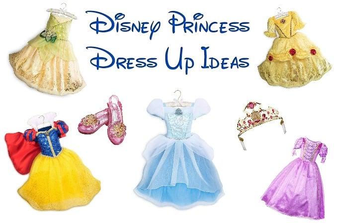 Disney Princess Dress Up Ideas