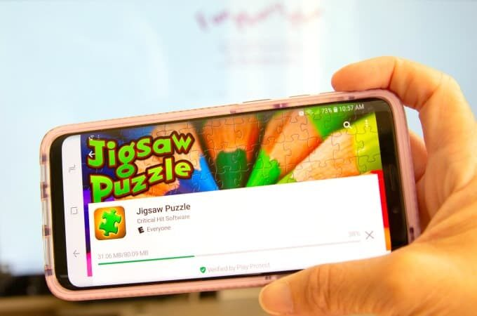 Jigsaw Puzzle App feature