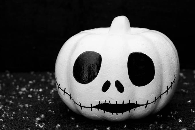 Jack Skellington Pumpkin for Halloween