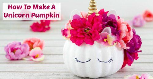 Unicorn Pumpkin for facebook