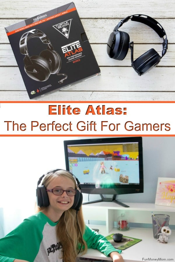 Elite Atlas - Looking for the perfect gift for gamers? The Elite Atlas headset from Turtle beach has all the features gamers want, from high quality audio to a microphone that allows flawless communication with fellow gamers. #ad #EliteAtlasPCGaming #gifts #giftgiving #gamingheadset #gamingaccessories