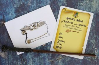 Harry Potter Invitations feature