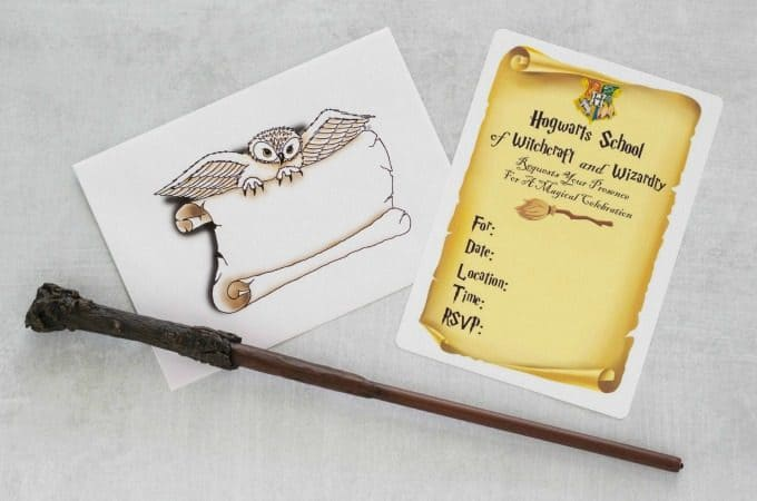 picture about Harry Potter Envelope Printable named Do-it-yourself Harry Potter Invites - Exciting Income Mother