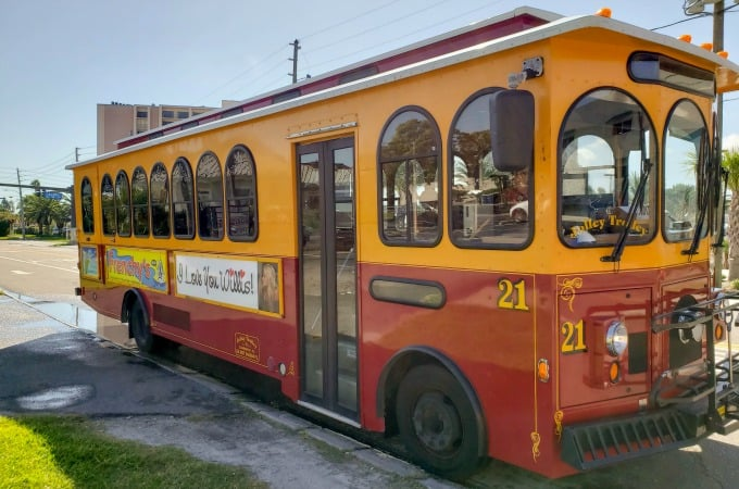 Jolley Trolley Clearwater Florida