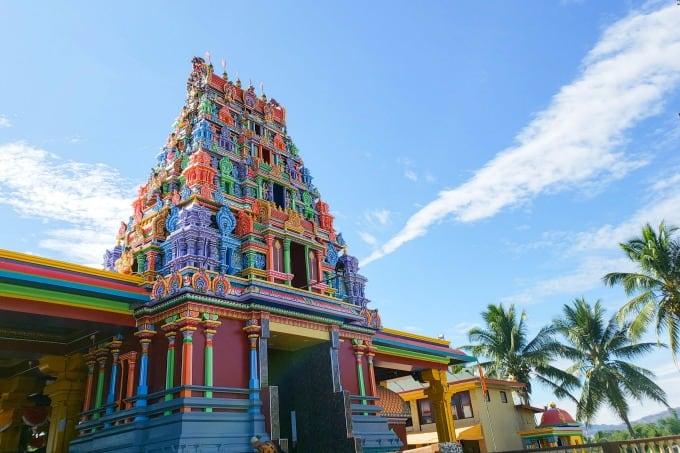 Hindi Temple in Fiji