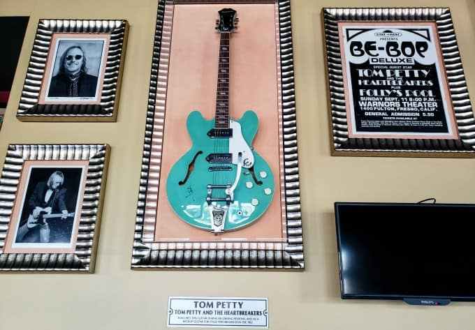 Tom Petty's Guitar at the Hard Rock Cafe Fiji