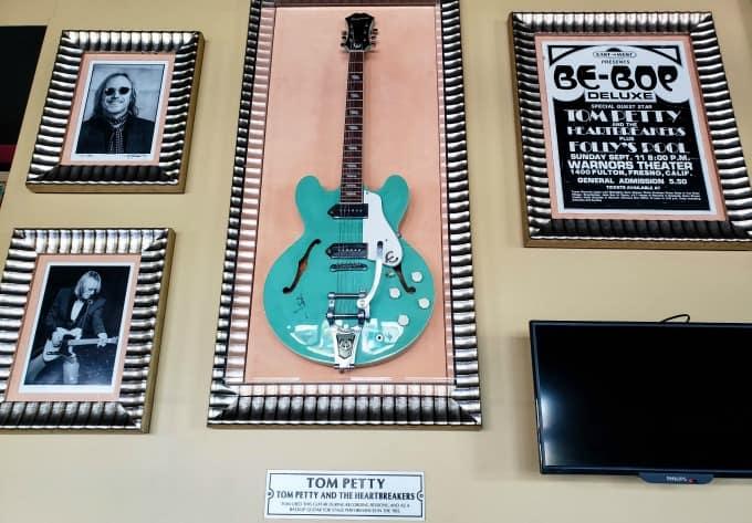 Tom Petty's Guitar at the Hard Rock Cafe Fiji