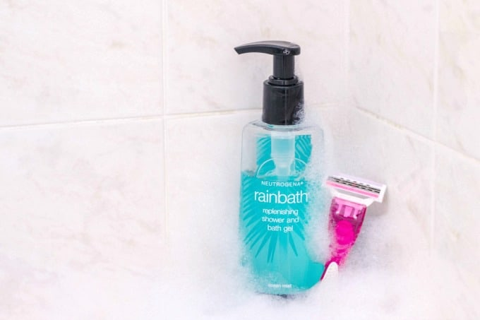 Neutrogena Rainbath products can be used for a number of things